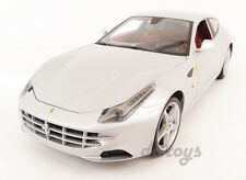 Hot Wheels Ferrari FF V12 4 Seater 1:18 Diecast Silver X5525