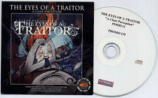 THE EYES OF A TRAITOR A Clear Perception 2009 9-trk promo CD