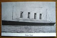 REPRODUCTION OF AN ANTIQUE POSTCARD ENTITLED STEAMER TITANIC  VERY COLLECTABLE