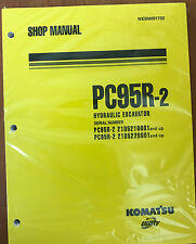 Komatsu Service PC95R-2 Excavator Shop Manual NEW #1