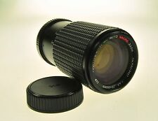 Pentax K Mount Tou Five Star Mc Auto Macro Zoom 75-200mm F4.5 Camera Lens