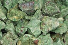 1 Pound of Natural Ruby Zoisite Rough Stones - Cabbing, Tumble Rocks, Reiki