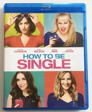 HOW TO BE SINGLE BLU RAY FREE WORLD WIDE SHIPPING COMEDY REBEL WILSON BUY IT NOW