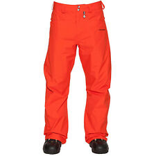 NEW / Volcom CARBON Snowboard PANTS / Orange  / Sizes:  L or XL / Large or XL