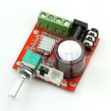 PAM8610 Hi-Fi Audio Stereo Amplifier 12V 2X10W Board Module Dual D Channel S102