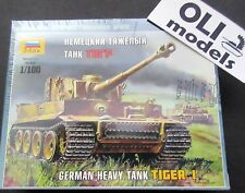 1/100 German Heavy Tank Pz.Kpfw.VI TIGER I - Art of Tactic - Zvezda 6256