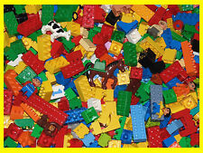 LEGO DUPLO BRICKS 500g RANDOM ASSORTED PIECES + VEHICLE & ANIMAL / FIGURE 1/2 KG