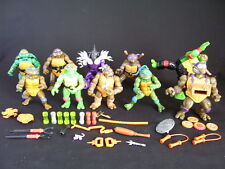 VINTAGE TEENAGE MUTANT NINJA TURTLES ACTION FIGURES & ACCESSORIES 1980'S 1990'S