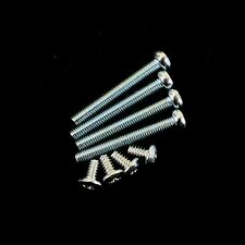 8Pcs Set Screw For Radiator & Fan Chrome Plate M3 3mm 4x28mm 4x5mm Length
