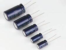 2x Condensateurs Chimiques Radiaux 4700µF / 16V