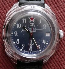 Wrist Mechanical Watch VOSTOK KOMANDIRSKIE Commander Military Submarine 211289