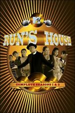 Run's House - Season 1 & 2  (Reverend DJ Run DMC) 3 DVD