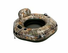 Intex Realtree River Run Tube Connect Lounge Inflatable Floating Raft 58853EP