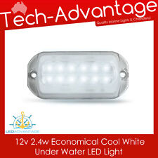 12V ECONOMY COOL WHITE SMALL BOAT MARINE UNDERWATER TRANSOM LED LIGHT