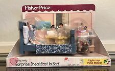 SURPRISE BREAKFAST in BED  for Fisher Price Loving Family  Dream Dollhouse  NIB