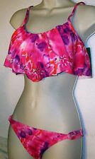 Womens TWO PIECE SWIMSUIT by REEF sz M BIKINI LINED (NEW) REMOVEABLE PADDING