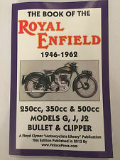 ROYAL ENFIELD G J J2 BULLET CLIPPER 230 350 500 BOOK OF WORKSHOP MANUAL 1946-62
