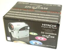 Factory Sealed NEW Hitachi DZ-GX5080 A DVD 30X ZOOM  Camcorder - Silver