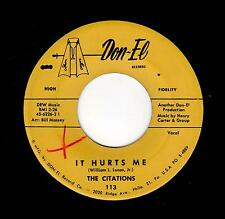 PHILLY DOO-WOP-CITATIONS-DON-EL-113-IT HURTS ME/KISS IN THE NIGHT