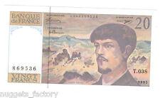 20 Francs Debussy 1993 Neuf ( 412 )