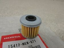 HONDA CRF450R CRF250R CRF250X 450X CRF150R TRX450R OEM OIL FILTER 15412-MEN-671