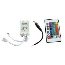 24 Keys IR Remote Controller Wireless For 3528 5050 RGB SMD LED Strips JGUS