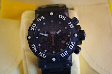 INVICTA SWISS MADE SUBAQUA NITRO 0405 CHRONOGRAPH ALL BLACK EDITION