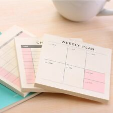 Cute Kawaii Weekly Monthly Work Planner Book Diary Agenda Filofax Dokibook For K