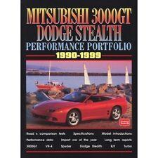Mitsubishi 3000GT & Dodge Stealth Performance Portfolio 1990-1999 book paper