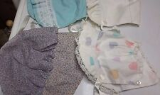 VINTAGE BABY  BONNET LOT OF 4