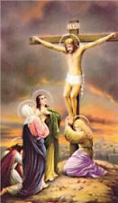 Stations of the Cross Prayer Card and Holy Card