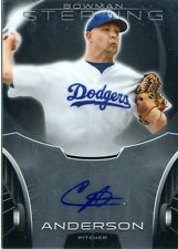 Chris Anderson 2013 Topps Bowman Sterling Prospects Autograph Auto