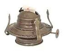 ONE KEROSENE OIL LAMP BURNER  #2 SIZE ANTIQUE BRASS