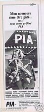 Publicité Advertising 096 1967 PIA  Pakistan International Airlines