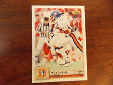 FOOTBALL CARD 1992 UPPER DECK MARK JACSON #551