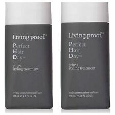 Living proof Perfect Hair Day 5-In-1 Treatment, 4.0 fl oz. Lot Of 2