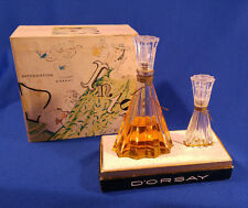 Vintage D'ORSAY INTOXICATION DAILY DOUBLE 2 BOTTLES Perfume Cologne Original Box