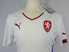 Authentic Puma Czech Republic 2014/15 Away Football Soccer Jersey Size Medium M