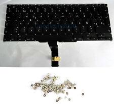 """100% New Macbook Air 11"""" A1370 A1465 Spainsh Keyboard MC968 MC969 MD223 MD224"""