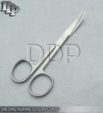 "Dressing Nursing Surgical Scissors 4.5"" Sharp / Blunt Curved OS-002"
