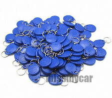 New 100Pcs Rfid 125Khz Proximity Rfid Id Card Key Tags (Keyfobs)