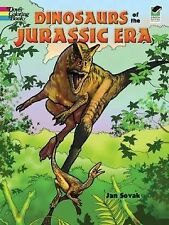 Dinosaurs of the Jurassic Era Coloring Book (Paperback)