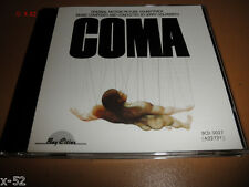 COMA soundtrack CD Jerry Goldsmith RARE oop Michael Crichton Douglas movie SCORE