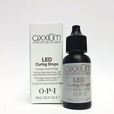 OPI Axxium - LED Gel Conversion Drops for Axxium Soak Off Gel .3oz/9mL