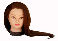 "*USA SELLER*  @ 26"" Cosmetology Mannequin Head 100% HUMAN Hair ~~ (USA SELLER)"