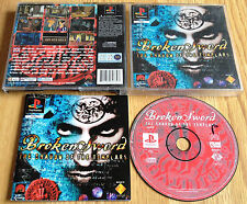 BROKEN SWORD THE SHADOW OF THE TEMPLAR for SONY PS1, PS2 & PS3 COMPLETE