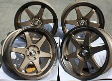 "18"" BRONZE GTR ALLOY WHEELS FIT BMW E46 E90 E91 E92 E93 Z3 Z4 F30 F31 F32 F33 X3"