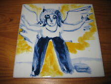PORTUGAL PORTUGUESE PAULA REGO 1990s EDITION ANGEL CERAMIC TILE CARREAU FLIESE