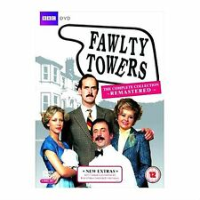 Fawlty Towers Complete BBC TV Comedy Series 1 and 2 DVD Collection 3 Discs
