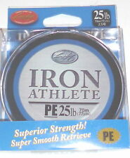 Lucky Craft Iron Athlete 12# Braid Line (77/yd/spool)